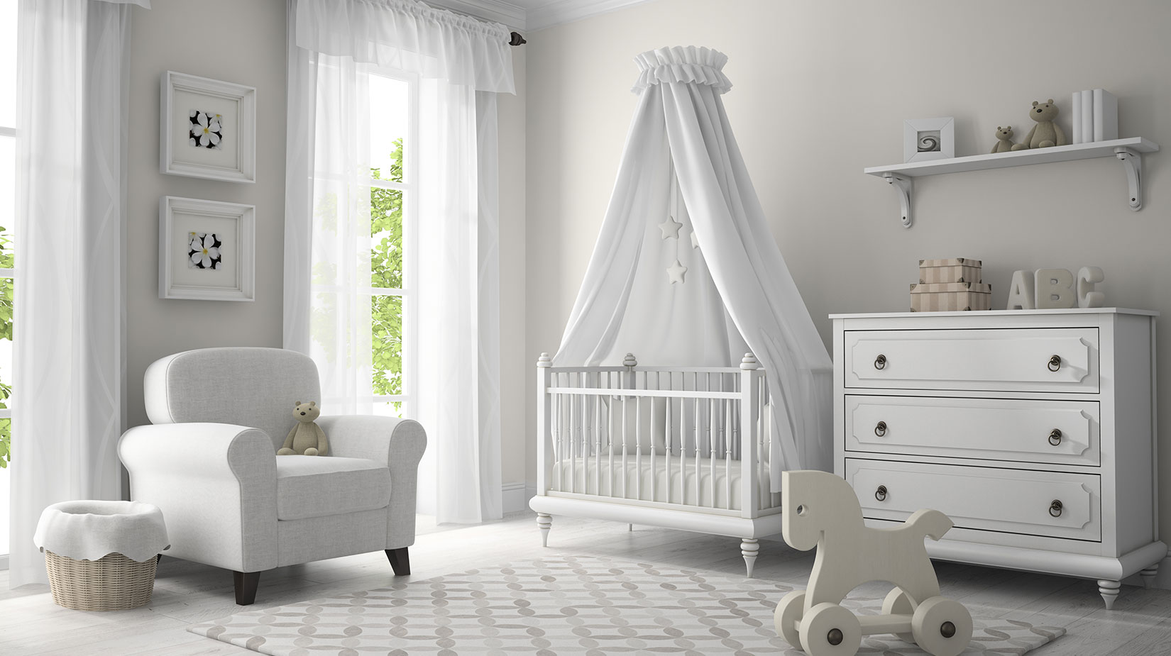 Bebek Odası Hazırlamanın Püf Noktaları